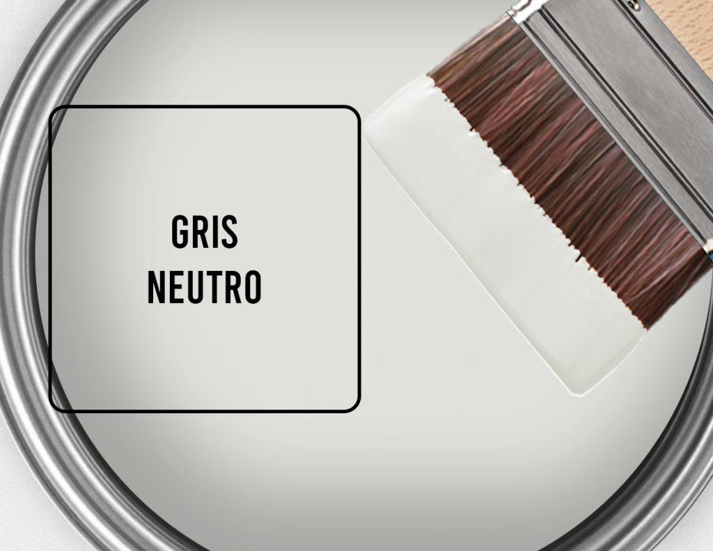 color gris neutro para paredes