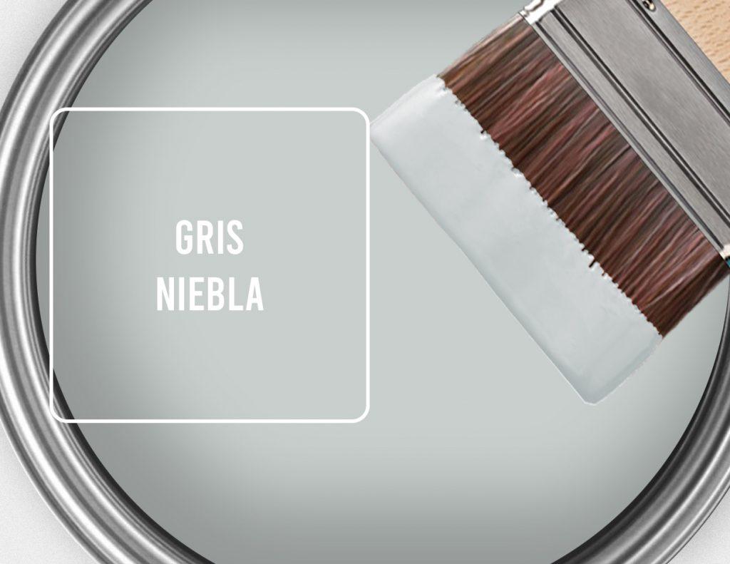 pintura gris tiza
