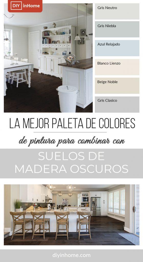 colores para suelos de madera oscuros